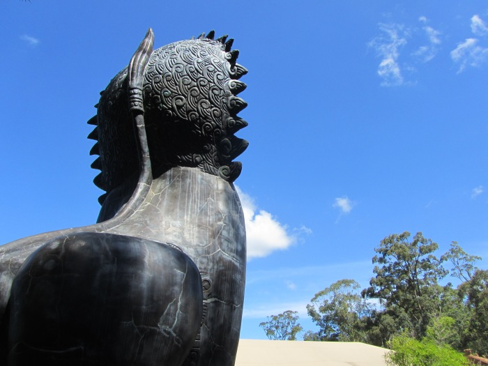 Asian Lion Statue Australia Zoo